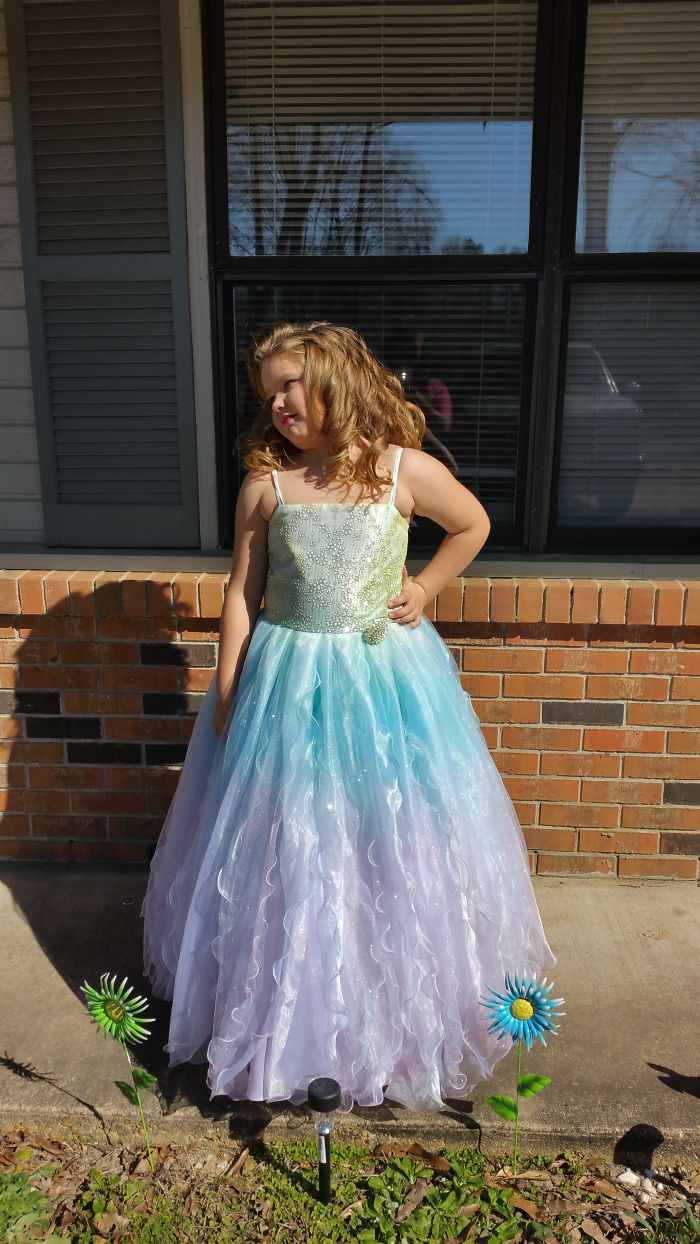 Pageant Dress That I Dyed