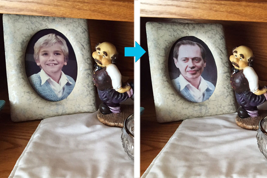 I Replaced Photos Of My Brother With Steve Buscemi, And Nobody Noticed