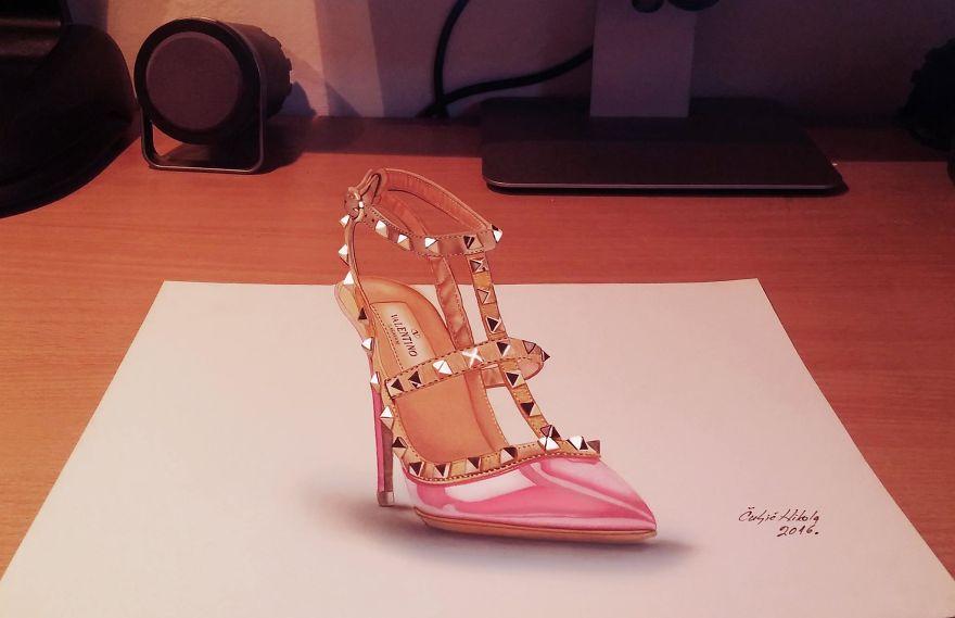 3d Valentino Shoe