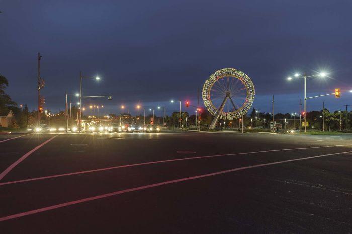 1.1 Million Dollars For This Unusable Ferris Wheel In Montreal Canada