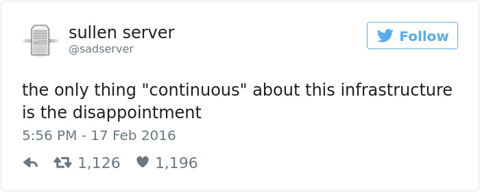 Funny Tweets About Servers