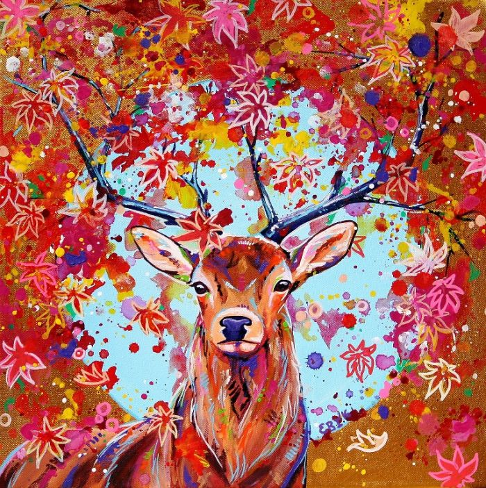 I Paint Colourful Animal Portraits With A Twist