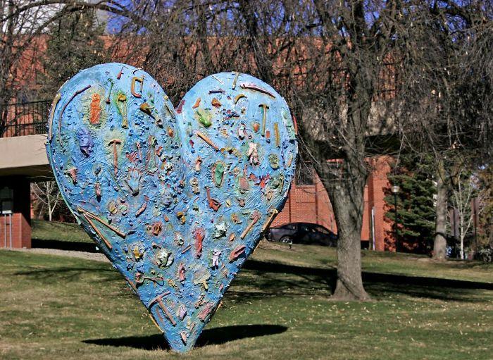 The Blue Heart, Pullman, Wa, Usa