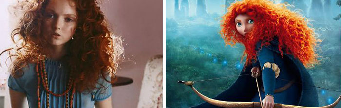 Princess Merida From Brave