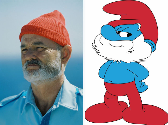 Papa Smurf From The Smurfs