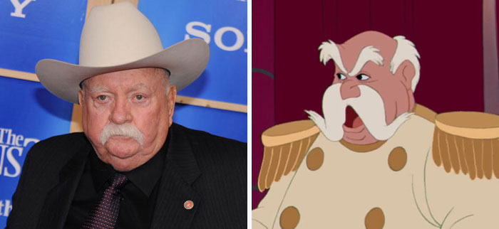 Wilford Brimley Looks Like The King From Cinderella