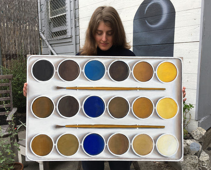 I Painted The Confusing & Fascinating Palette Of A Color Blind Artist