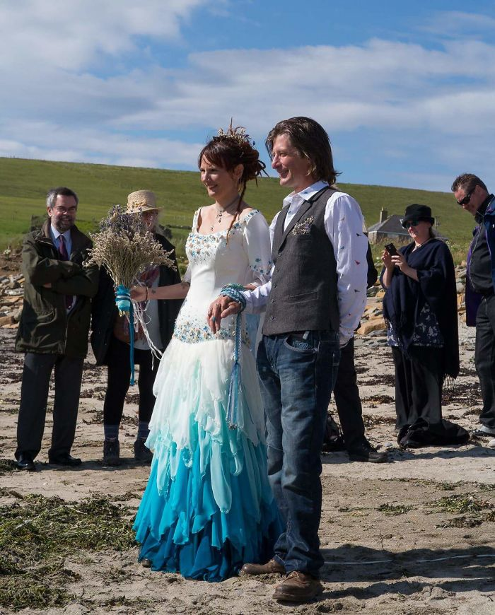 Beach Wedding In Orkney