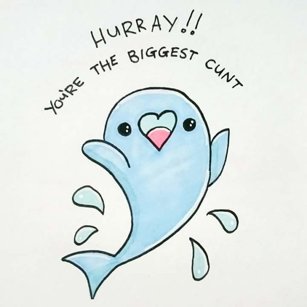 15+ Offensively Cute Greeting Cards (Warning: Strong Language ...