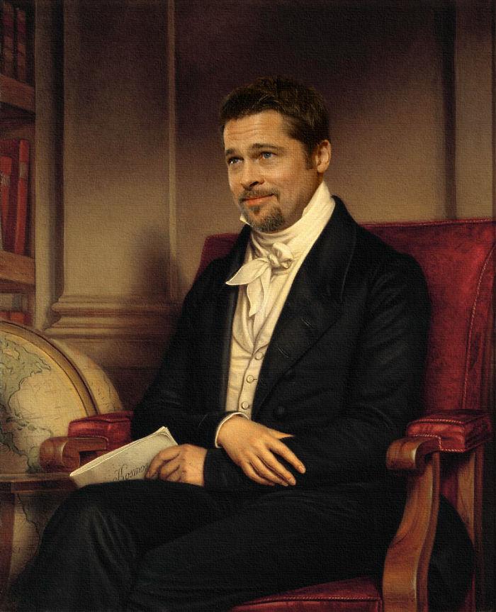 Brad Pitt By Darcio Nunciatelli