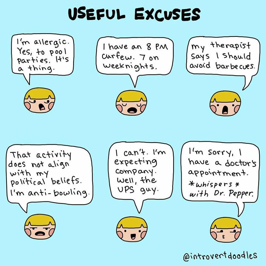 Useful Excuses