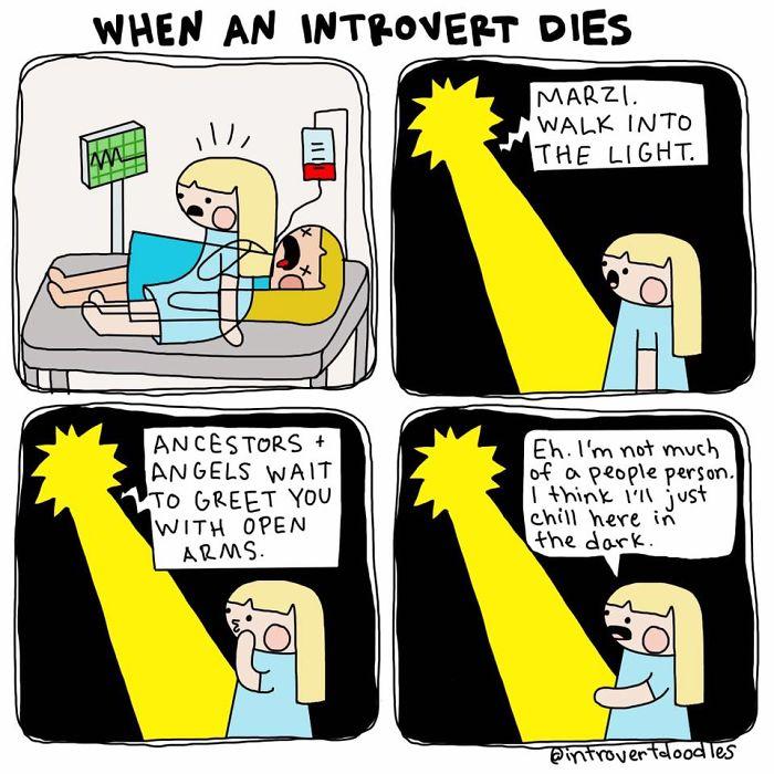 When An Introvert Dies