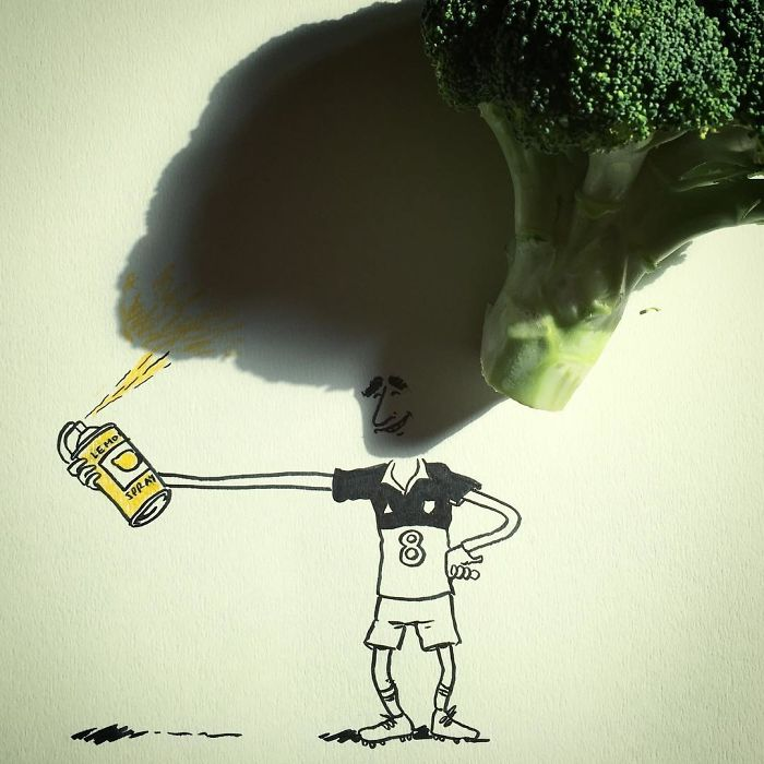 Fellaini's Yellow Broccoli Power