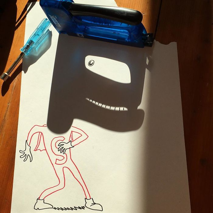 With So Many Loose Ends, This Clearly Was A Case For Stapler Man!