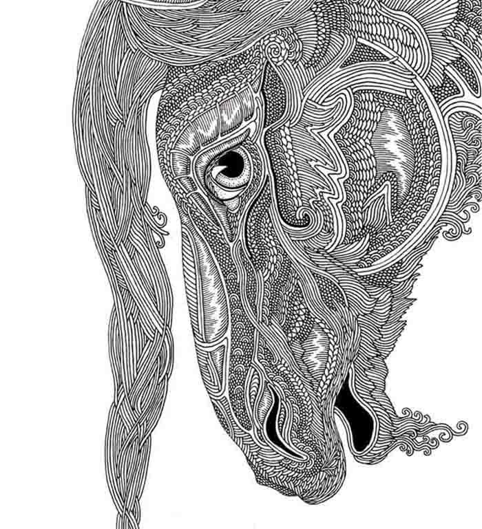I Love To Draw Horses