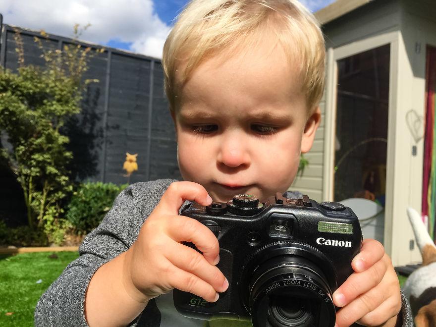 Nhiếp ảnh dễ thương: Nhìn Thế giới qua ống kính của cậu bé 19 tháng tuổi - Ảnh 29.