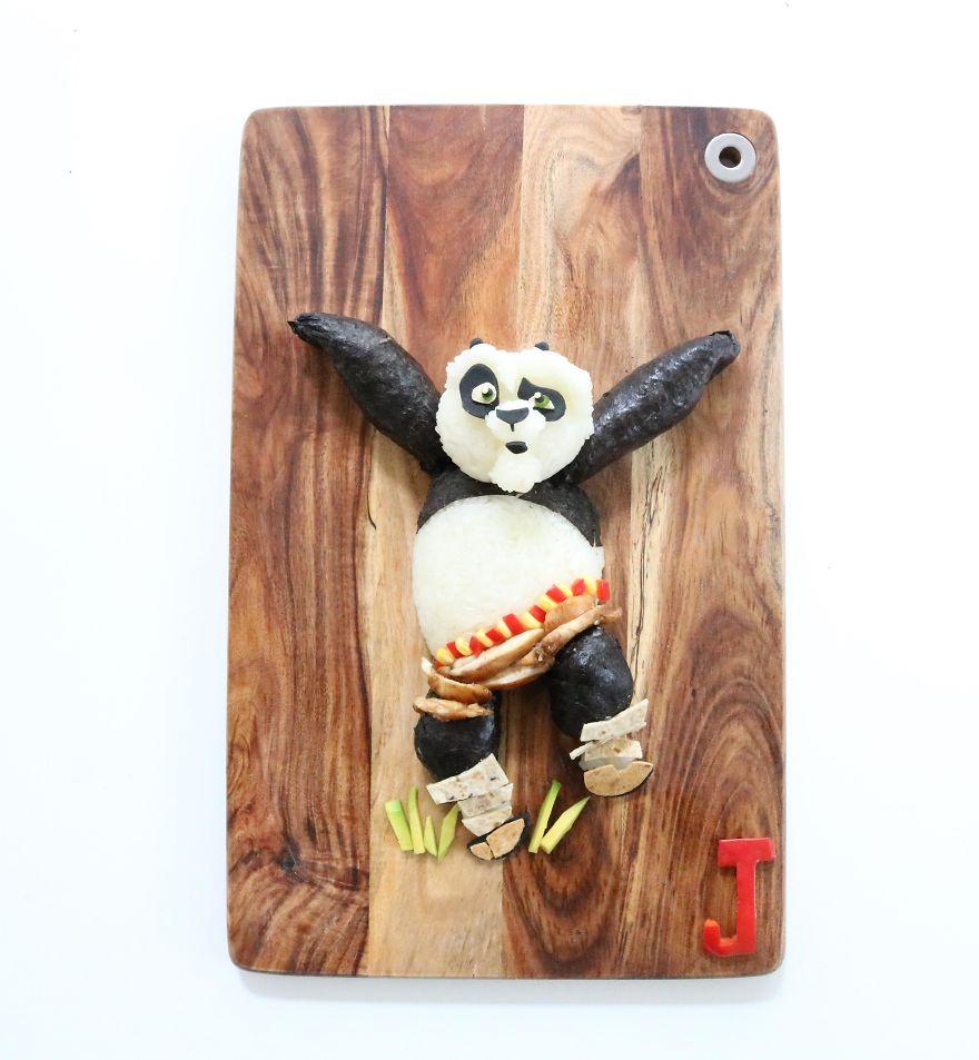 Po From Kungfu Panda