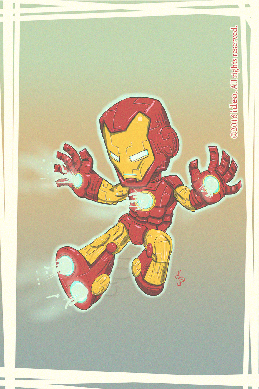 Chibi Iron Man