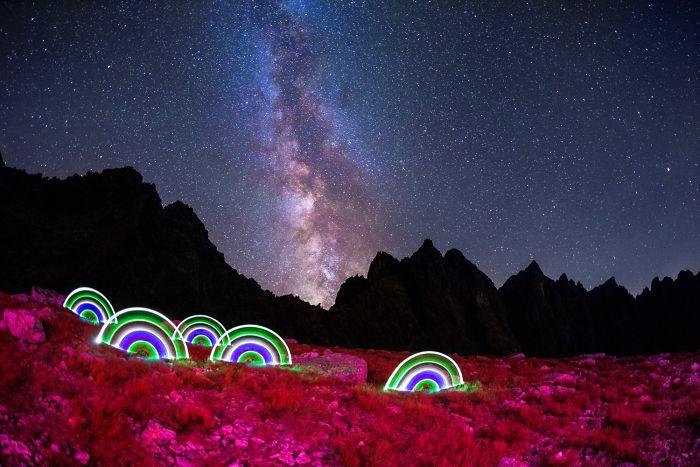 I'm Chasing The Milky Way Through Whole Tatra Mountains