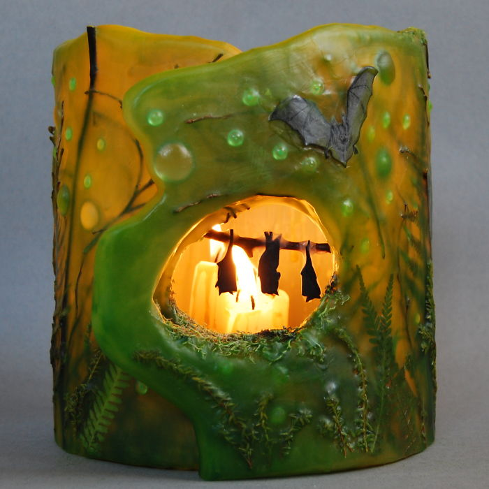 Bats' Cave: I Made This Lantern As A Present For Cave Explorer