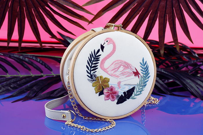 It's Not Your Regular Embroidery Hoop – It's A Bag!