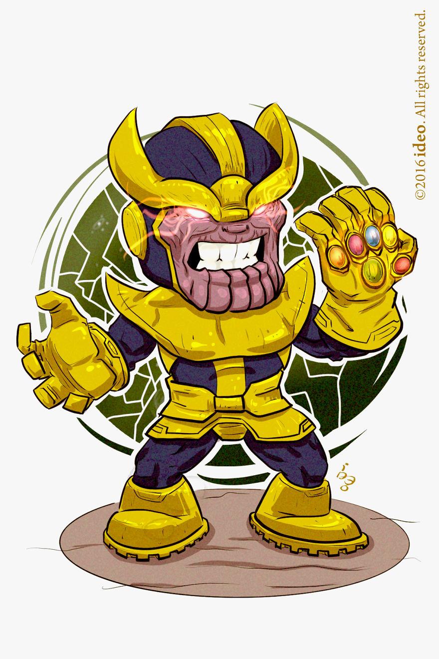 Chibi Thanos