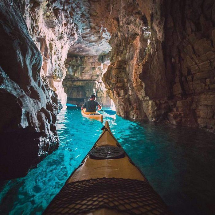 Kayaking In Istria, Croatia