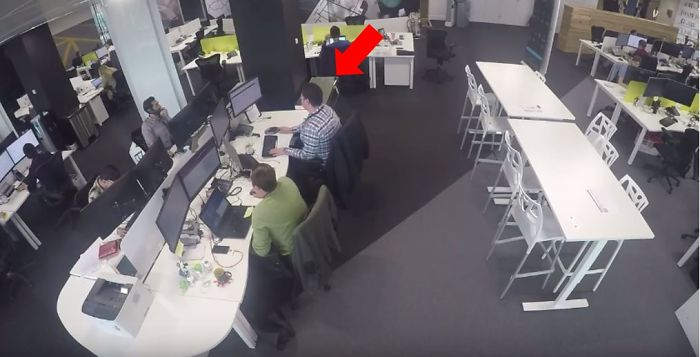 We Tested How Vain Our Office Was With A Lot Of Mirrors And Hidden Cameras