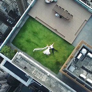After Accidentally Shooting These Newlyweds On The Rooftop, Photographer Asks Internet To Help Him Find The Couple