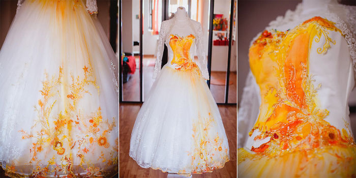 Painted Bride Dress