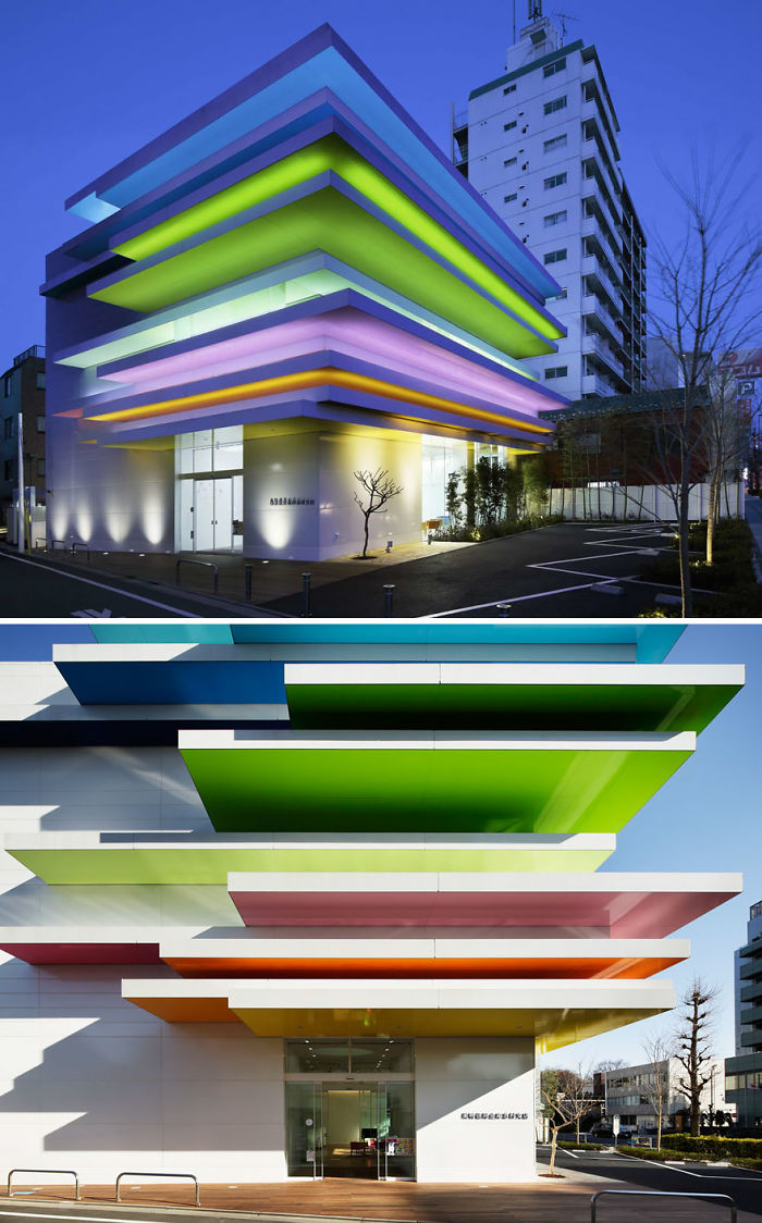 Sugamo Shinkin Bank / Shimura Branch Azusawa, Itabashi-ku, Japan