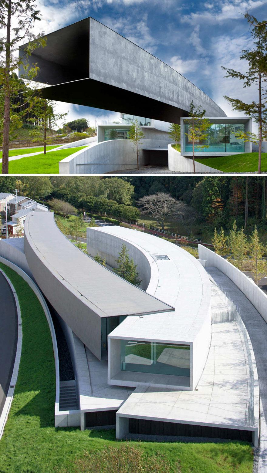 Hoki Museum In Midori Ward, Chiba, Japan