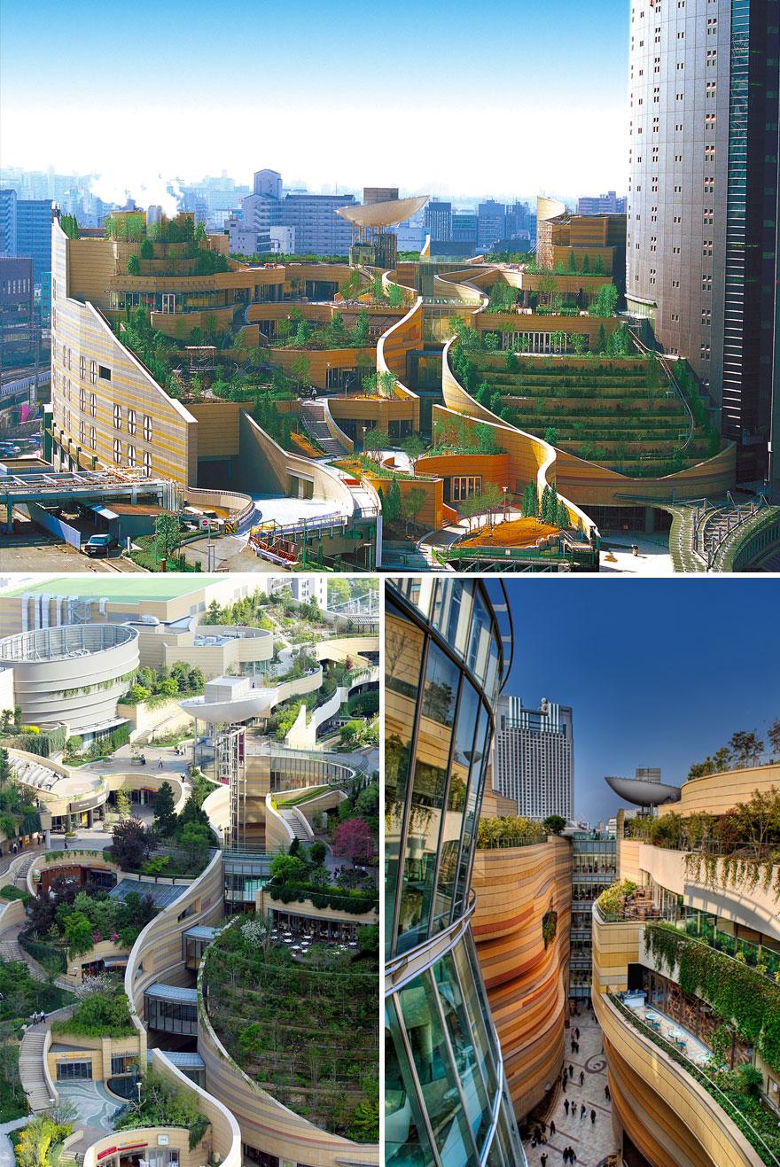 architecture japanese modern amazing namba parks osaka examples most