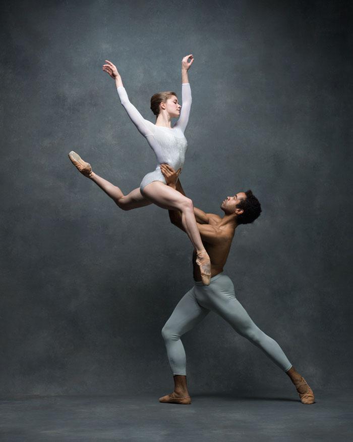 Erotic ballet dance