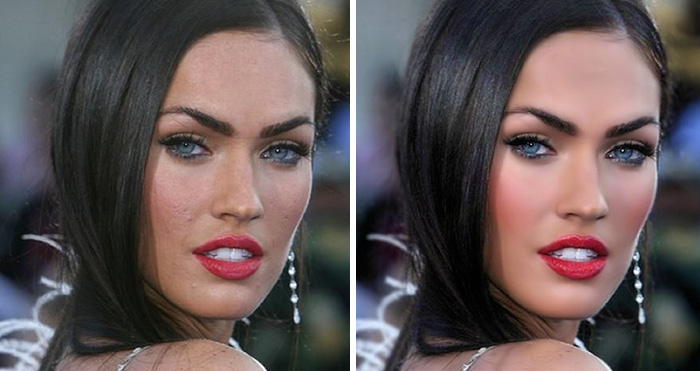 57 Celebrities Before And After Photoshop Who Set