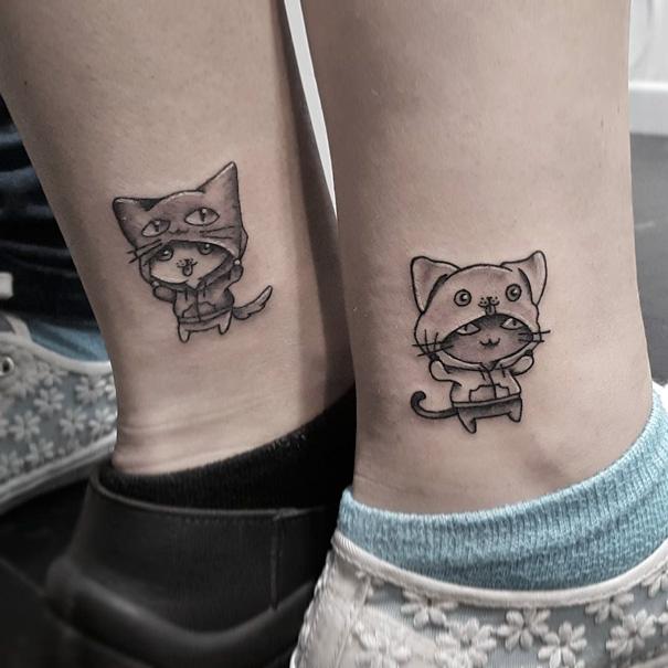 Best Friends Tattoo Idea