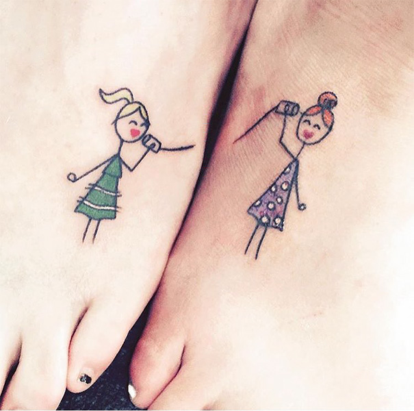 Best Friends Tattoo Idea