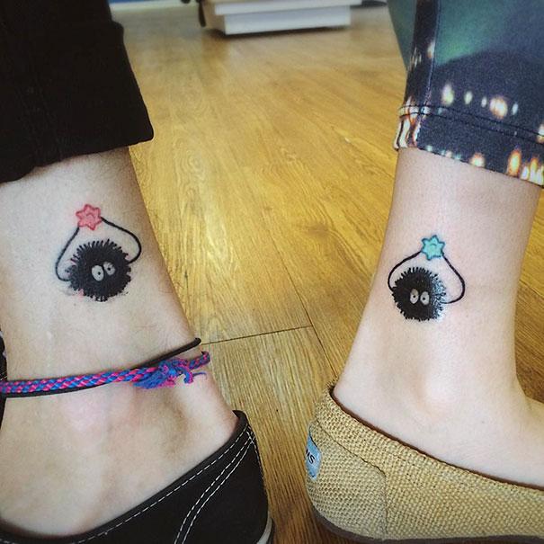 Лучшая идея Друзья татуировки
