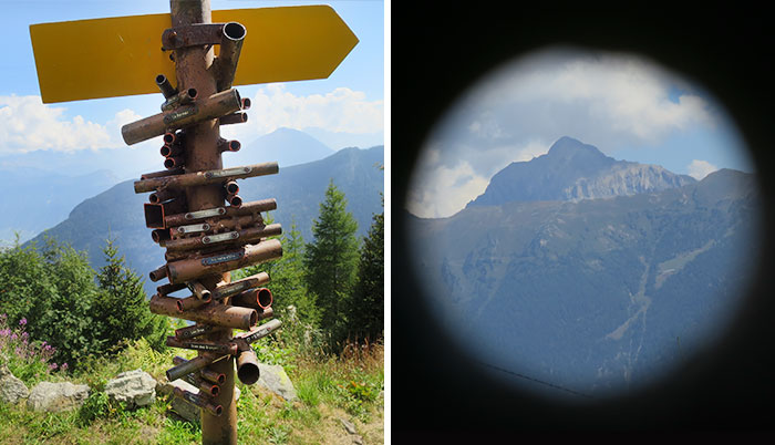 Someone In Switzerland Made This Mountain Finder Device And It's Brilliant