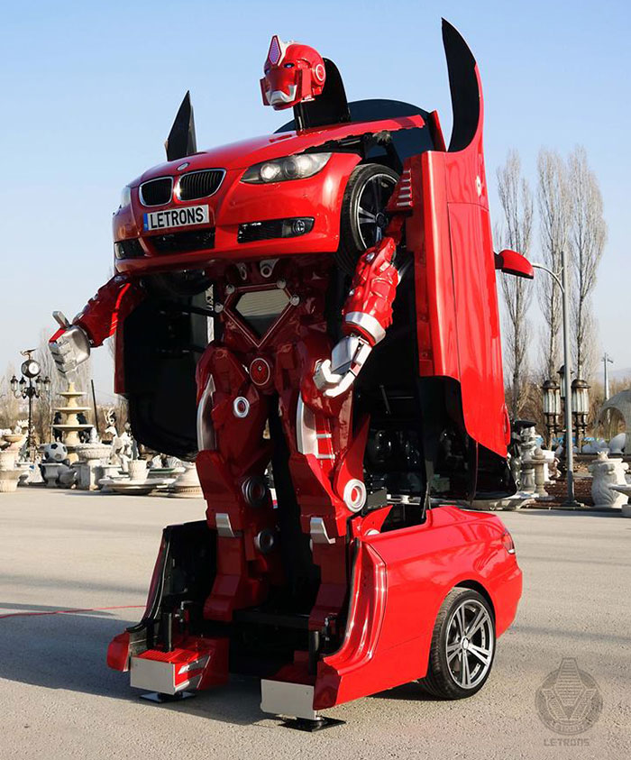 Where Is Bmw Made >> Turkish Engineers Just Made A Real-Life Driveable BMW Transformer (Video) | Bored Panda