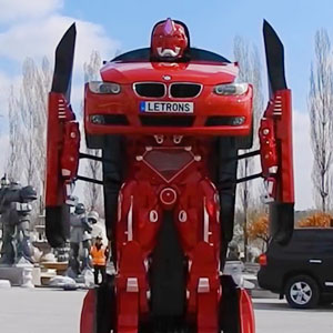 Turkish Engineers Just Made A Real-Life Driveable BMW Transformer (Video)