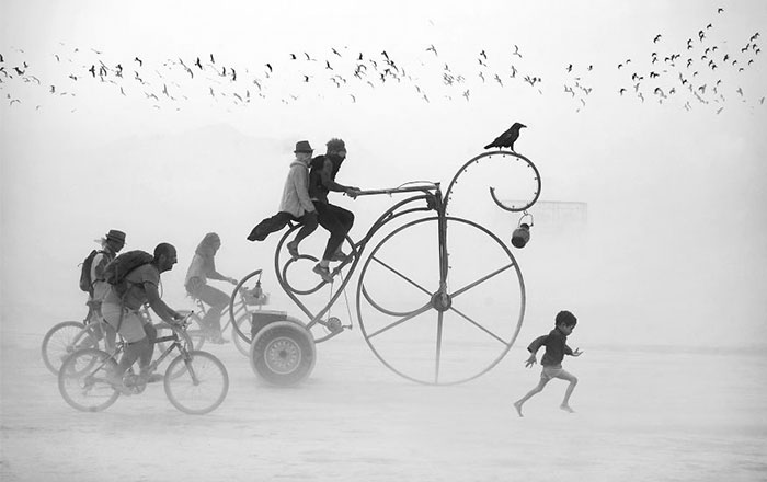 Surreal Photos Of Burning Man By Victor Habchy