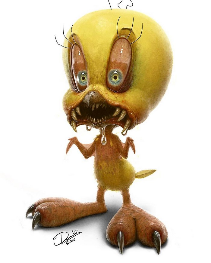 Horror Cartoons