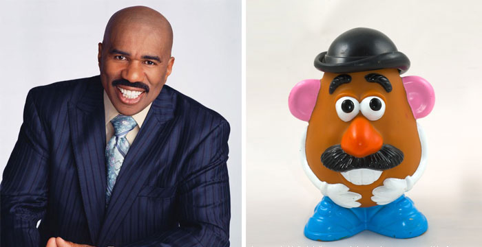 Steve Harvey Looks Like Mr. Potato Head