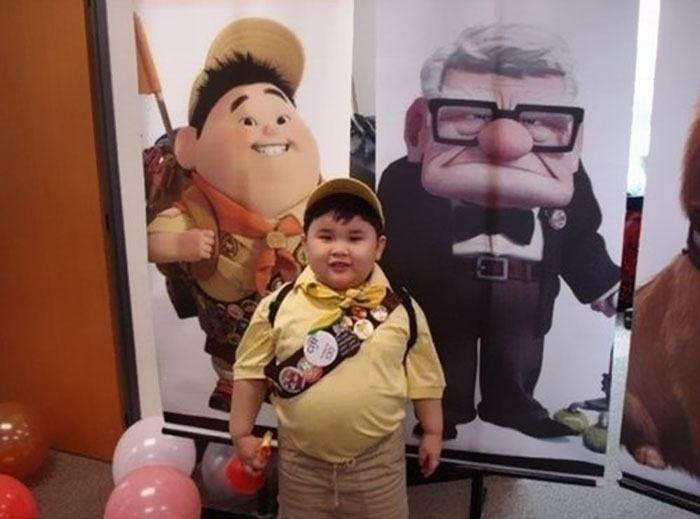 This Scout Kid Looks Like Russel From Up