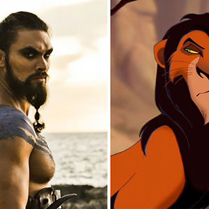 Khal Drogo Looks Like Scar From Lion King