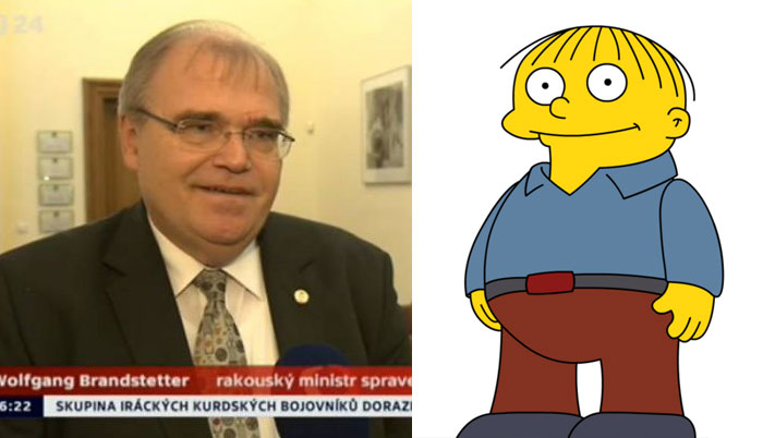 Ralph Wiggum From The Simpsons
