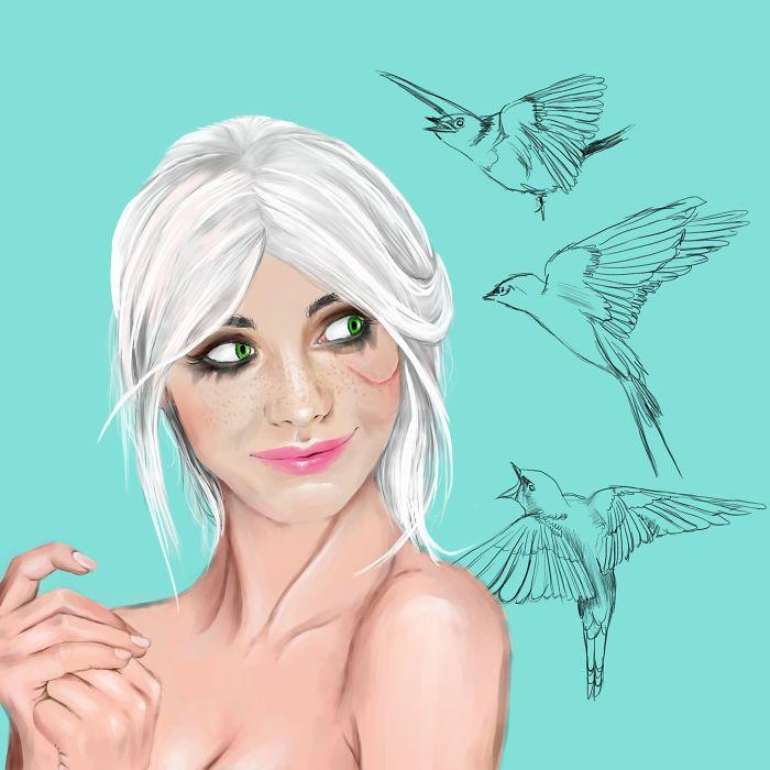 I'm An Illustrator From Poland Still Learning Digital Painting