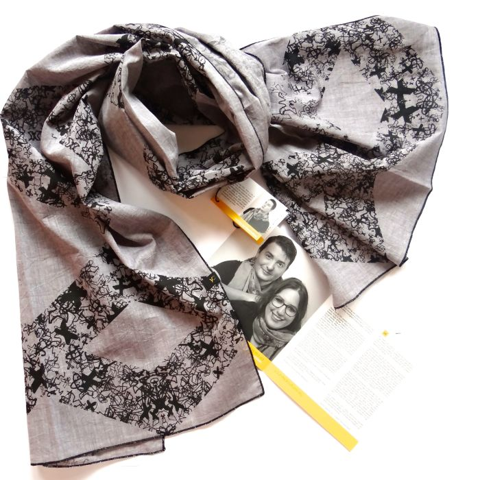 These 2 Women Tell Stories Of Immigrants … On Scarves