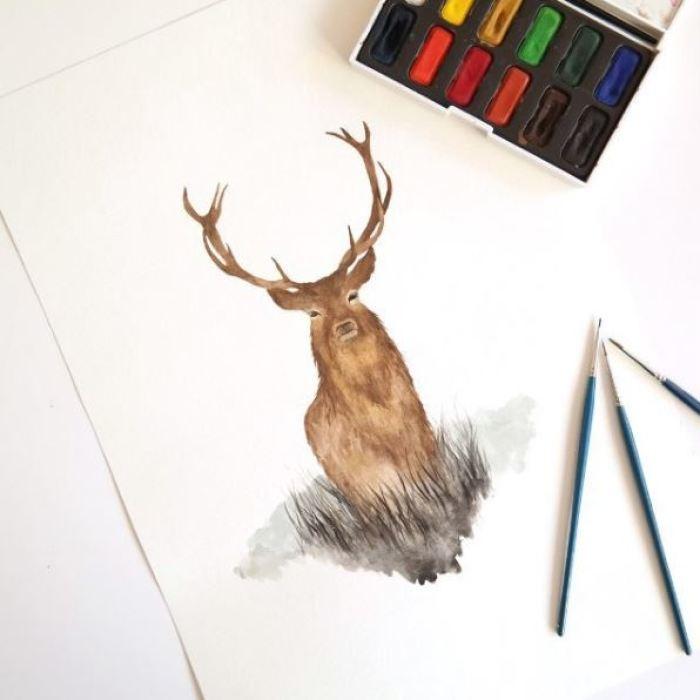 I Paint Watercolor Illustrations